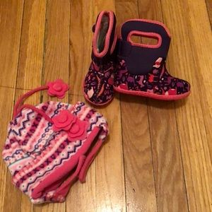 Boggs Toddler Water Proof Boots- Sz 6